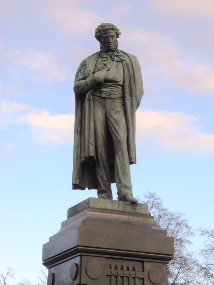 Памятник А.С. Пушкину (Москва, А.М. Опекушин, установлен 6 июня 1880 года)